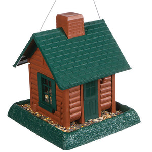 North States Log Cabin Bird Feeder