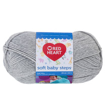 Elephant color Red Heart yarn.