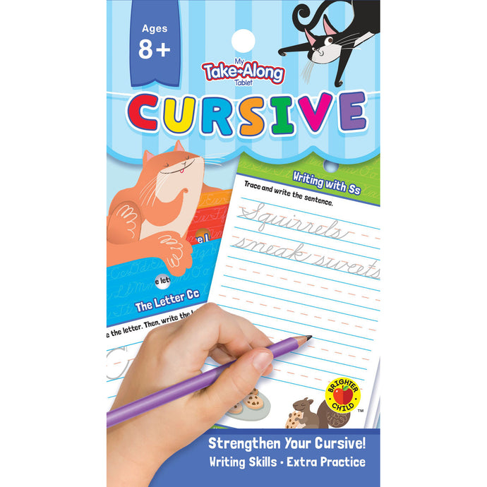 Carson Dellosa My Take-along Tablet Cursive activity book