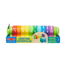 Counting Caterpillar toy in package