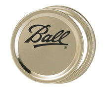 Ball canning lid and band