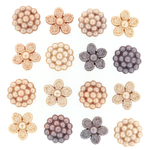BUTTONS VINTAGE PERALS