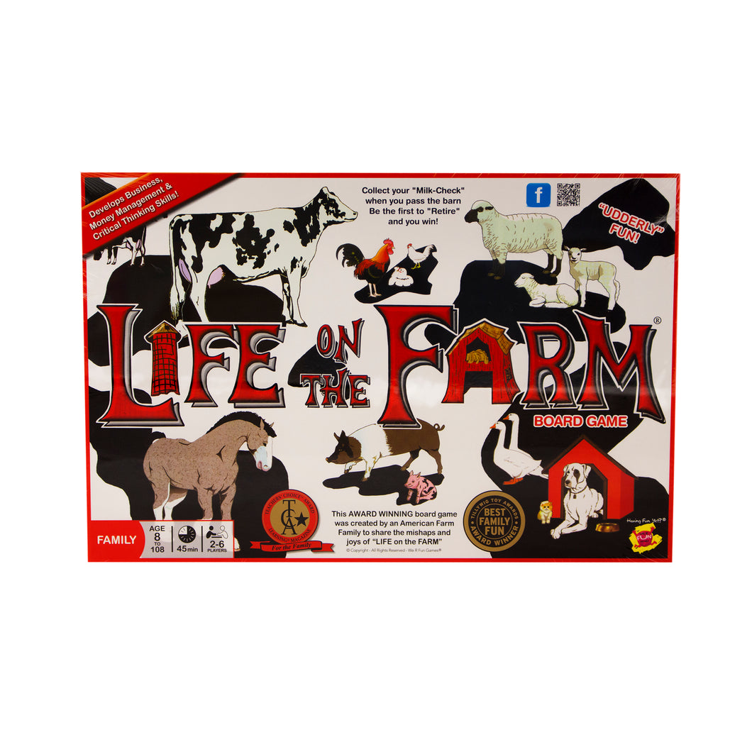 Life on the Farm Board Game.