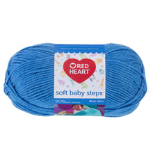 Deep Sky Blue Soft Baby Steps yarn.