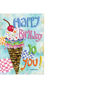 Happy Birthday card.