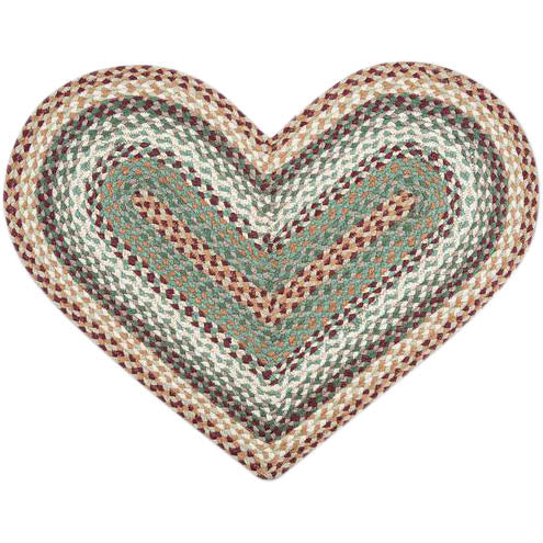 Heart shaped Capitol Rugs.