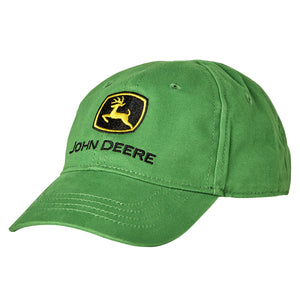 John Deere Green baseball hats for kids
