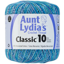 Ocean Aunt Lydia's crochet thread.