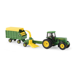 JD 4960 TRACTOR W/HARVESTER