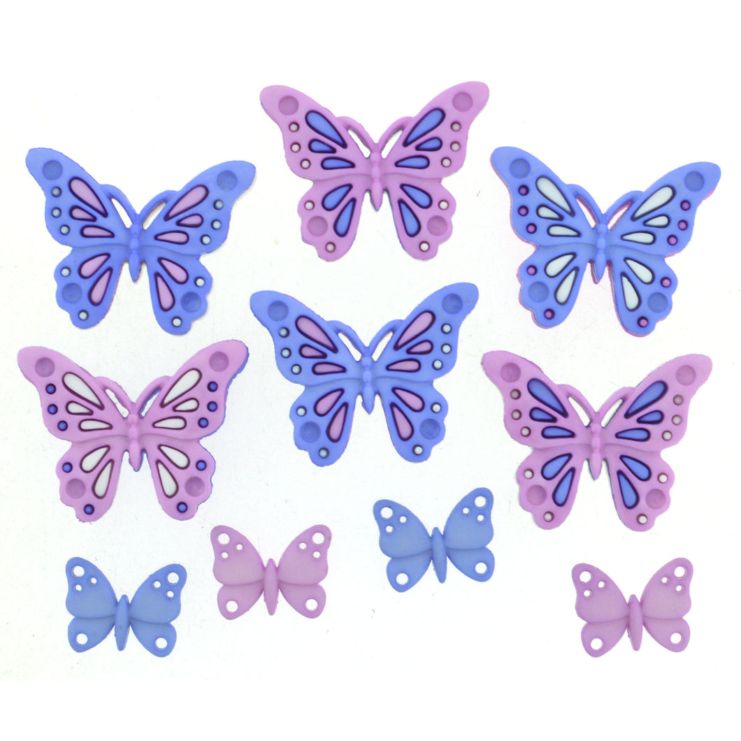 Dress It Up Buttons Sweet Butterflies 9315
