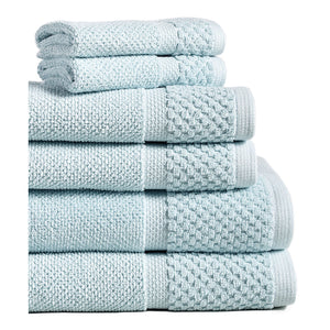 Spa Blue Diplomat Hotel Towels and Washcloths