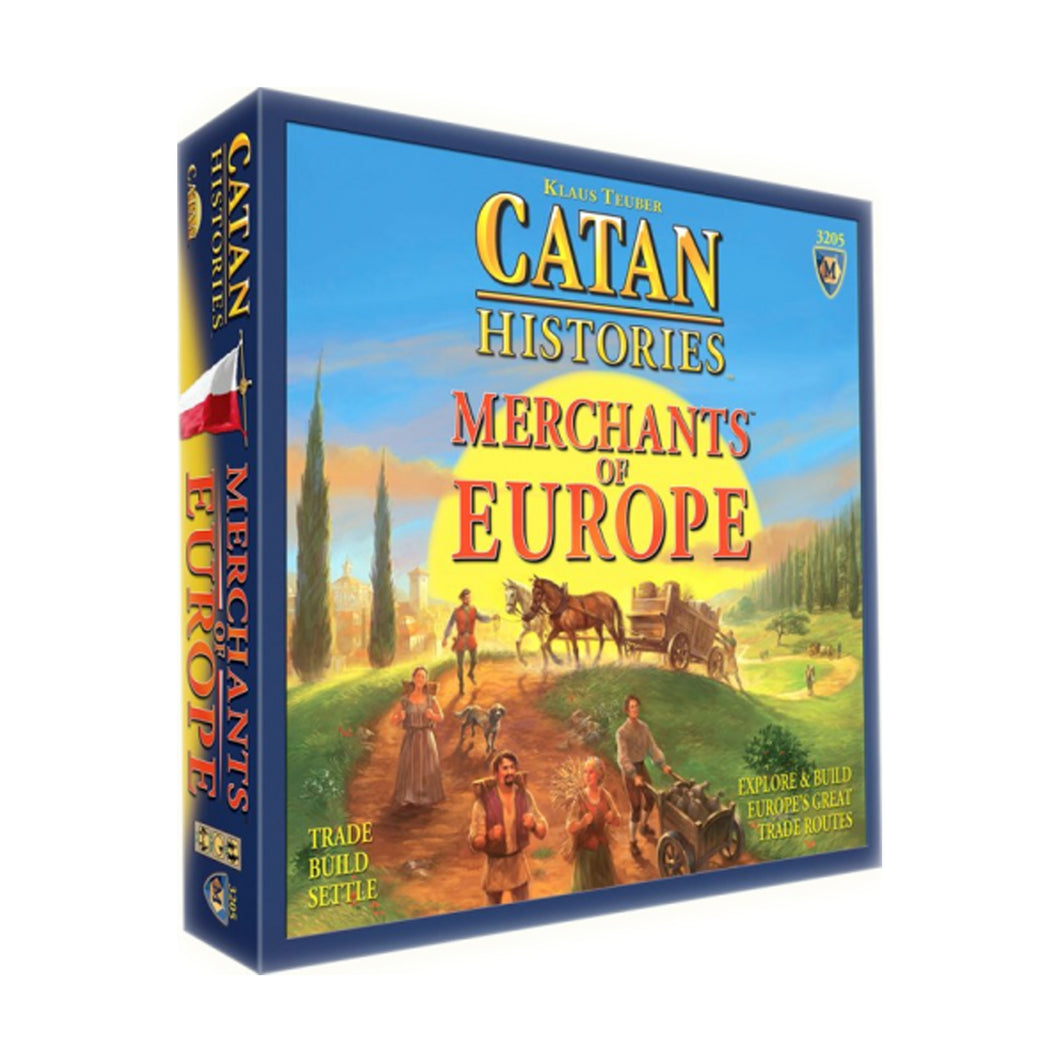 Asmodee Catan Histories- Merchants of Europe ASMCN3204