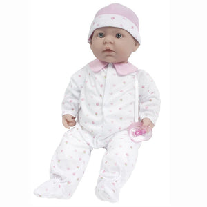 JC Toys La Baby Soft Body Doll with Pacifier 15340