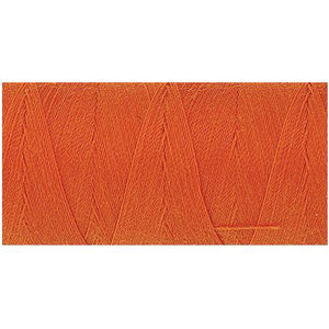 Tangerine color Mettler thread.