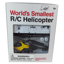 World's Smallest remote Helicopter