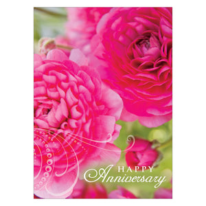 Floral anniversary cards.