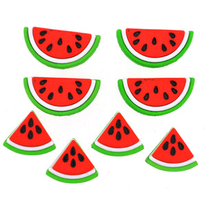 Watermelon buttons