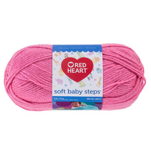 Strawberry pink Red Heart yarn.