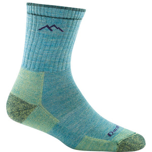 Darn Tough Hiker Micro Crew Women's Sock Aqua