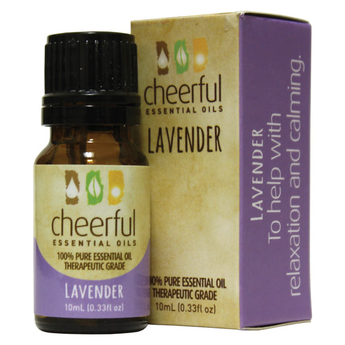 Cheerful Lavender essential oil.