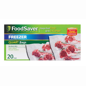 Sunbeam FoodSaver Quart Bags FSFSBF0216-000