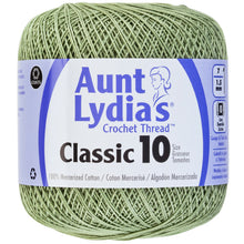 Frosty Green Aunt Lydia's crochet thread.