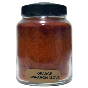 Candle Orange cinnamon clove.