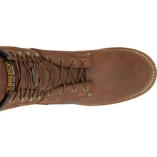 Lace-up Carolina brand work shoe.
