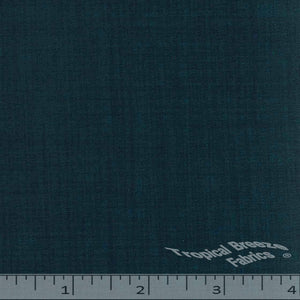 Blue mallard dress fabric
