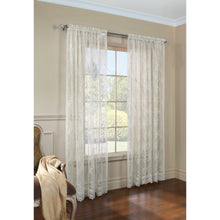 Shell Lace Curtain panels.