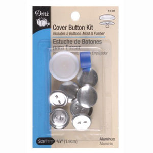 Dritz Cover Button Kit 3/4 Inch S-14-30