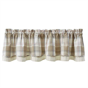 Landen Lined Layered Valance