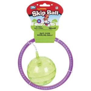 flashing light skipping ball