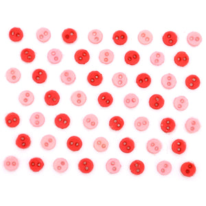 Dress It Up Buttons Micro Mini Round Hydrangea 9526