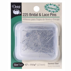 Dritz Bridal and Lace Pins S-33