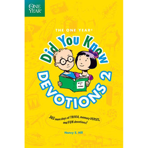 Kids Bible trivia and devotional book