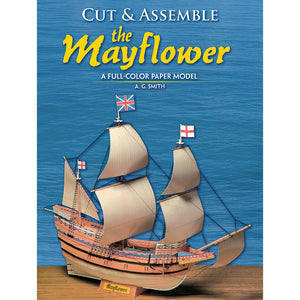 Dover Cut & Assemble The Mayflower activity book