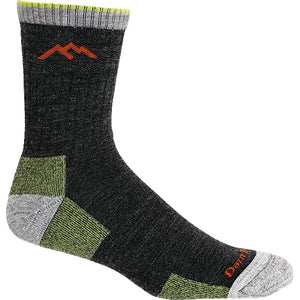 Darn Tough men's sock Merino wool socks lime color.