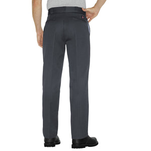 Dickies Charcoal work pants, back.