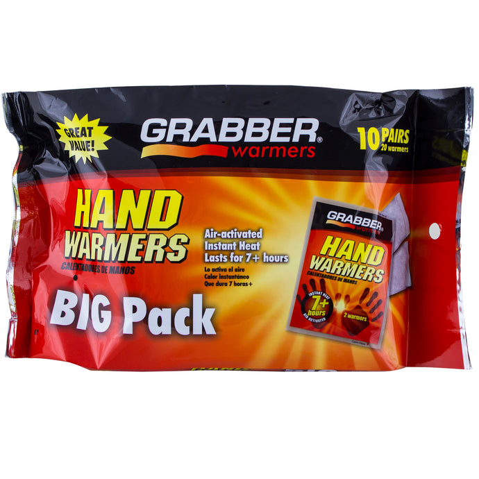 Hand Warmers, 10-pair pack.