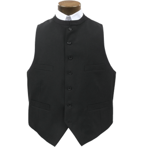 Black clerical vest