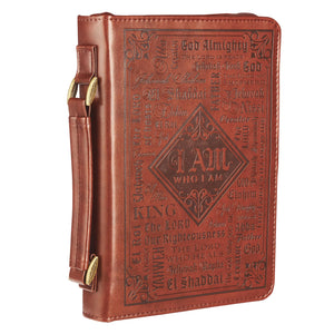 Names of God Brown Bible Cover BBL641