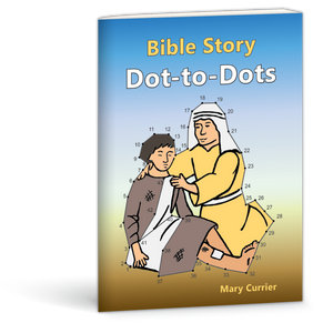Bible Story Dot-to-Dots activity book by Mary Currier 9780878137664