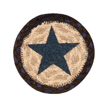 Blue star coaster