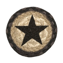 Brown star coaster