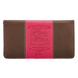 For I Know Checkbook Cover CHB031