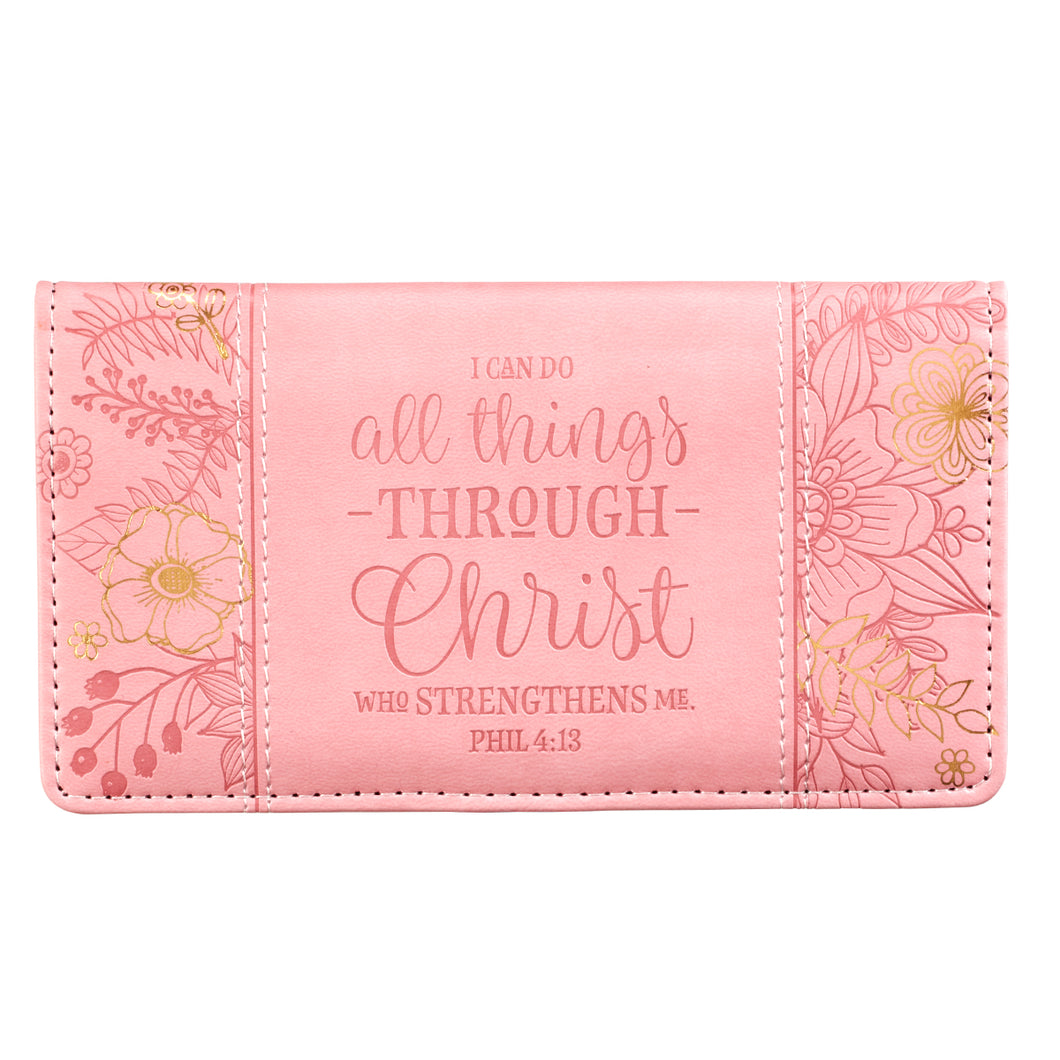 I Can Do All Things Checkbook Cover CHB041