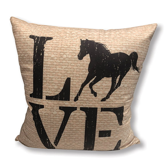 Horse Love Accent Pillow DAP10024