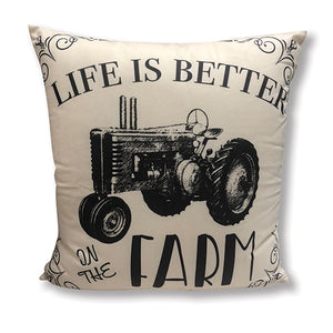 Life is Better on the Farm Accent Pillow DAP10047