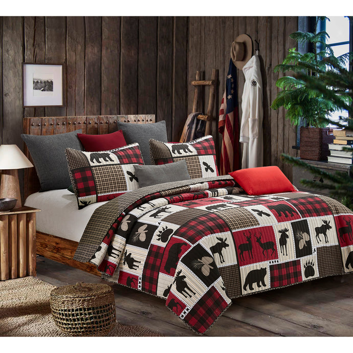Lodge Life Quilt Set DQ689T